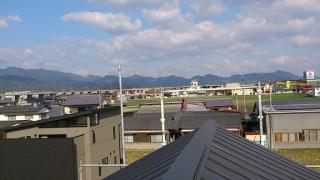 屋根から4